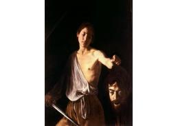 VCAR 56 Caravaggio - David s hlavou Goliáše