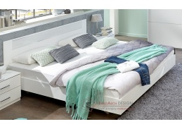 PAMELA 351, postel 160x200cm, alpská bílá