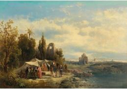 D-5938 Josef Thoma - Trh v Damašku