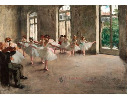 VR6-9 Edgar Degas - Zkouška baletu