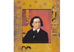Gustav Klimt - Portrét Josepha Pembauera 60x50cm