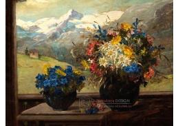 D-9773 Konstantin Stoitzner - Alpské květinové zátiší