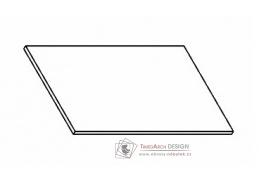Kuchyňská pracovní deska 60 cm šedý asfalt
