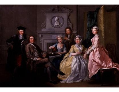 VANG235 Francis Hayman - Jonathan Tyers a jeho rodina
