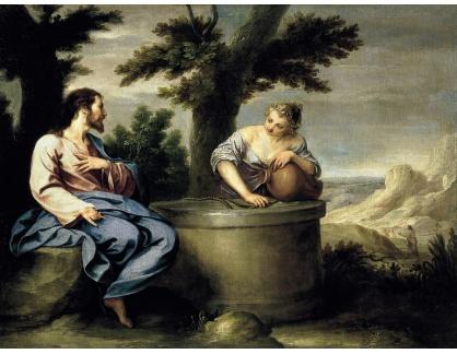 KO III-24 Alonso Cano - Kristus a Samaritánka