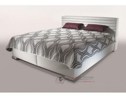 GROTA, čalouněná postel 160x200cm