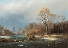 D-5854 Everhardus C. Koster - Rybáři na ledě