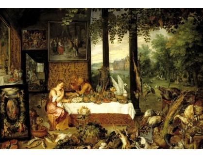 VRU136 Peter Paul Rubens - Alegorie chuti