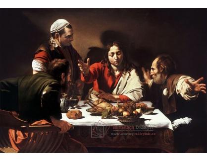 VCAR 14 Caravaggio - Večeře v Emauzích