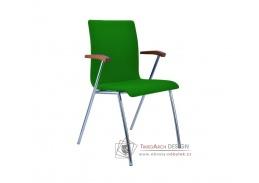 IBIS, konferenční židle čalouněná s područkami, výběr provedení