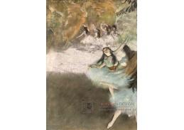 A-166 Edgar Degas - Na pódiu