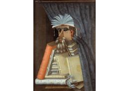 Giuseppe Arcimboldo - Knihovník
