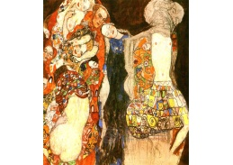Gustav Klimt - Nevěsta, 60x50cm