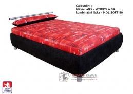CAIRO, postel 110x200cm, volně ložená matrace