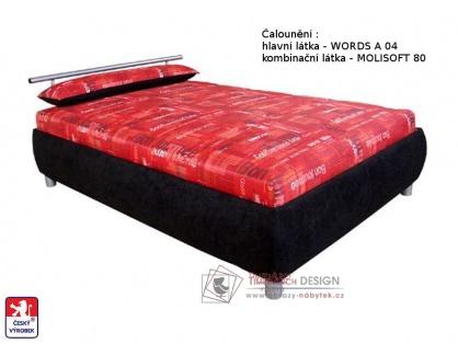 Postel CAIRO 110x200 cm, volně ložená matrace