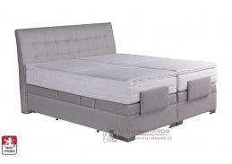 ASTRID, postel 180x200cm box-spring, elektrické polohování