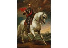DDSO-5372 Anthony van Dyck - Posmrtný jezdecký portrét císaře Karla V