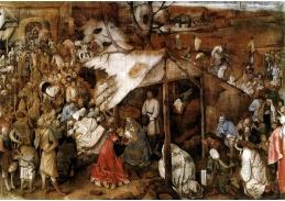 VH41 Pieter Brueghel - Klanění tří králů