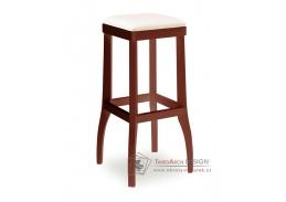 DANIEL 373050, barová židle, bukový masiv / látka
