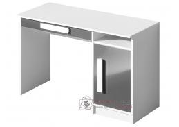 Pracovní stůl GULLIWER 9 bílá / šedý lesk / bílá