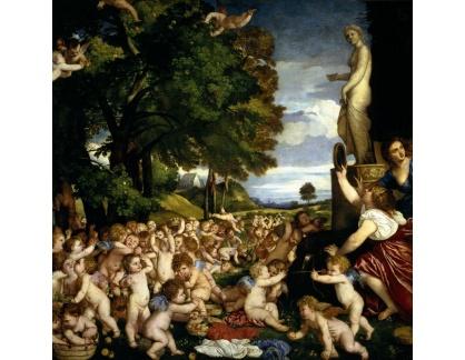 Tizian - Ofrenda a Venuše