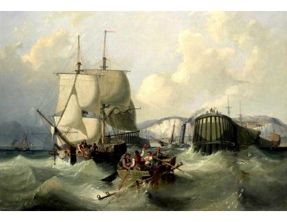 VANG205 George Chambers - Odplouvání brigy z Doveru