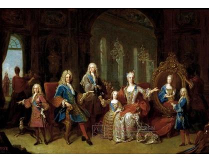 VF217 Louis Michel van Loo - Rodina Filipa V