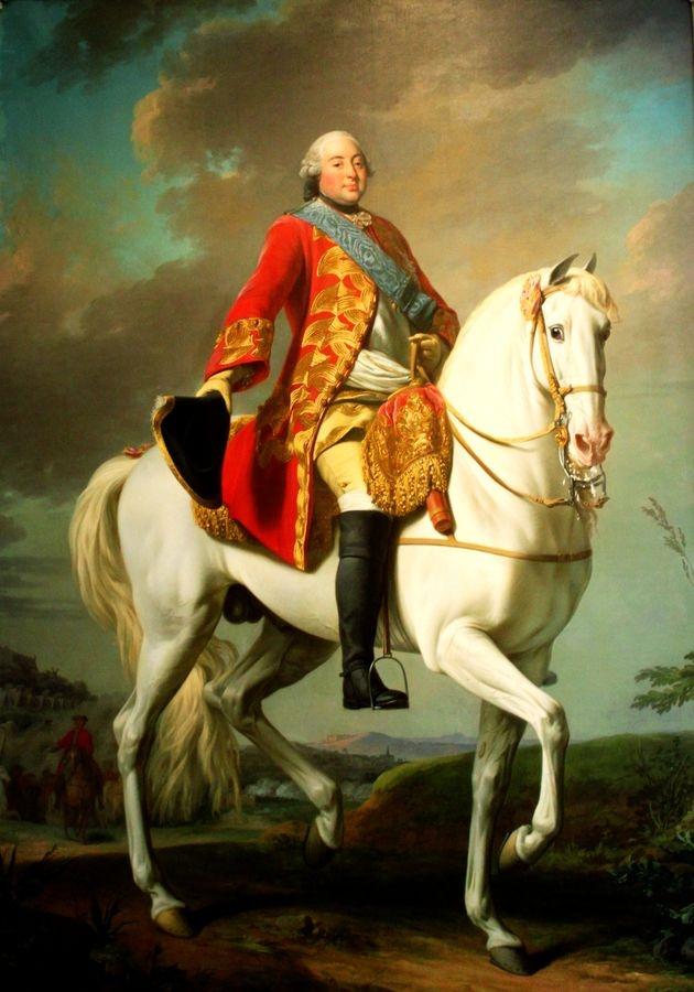 PORT-11 Alexander Roslin - Ludvík-Filip zdravící svojí armádu na bojišti