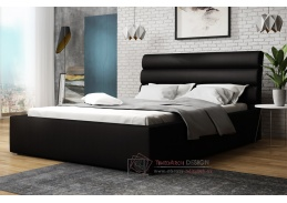 ALDONI, postel 180x200cm, látka Victoria 14869