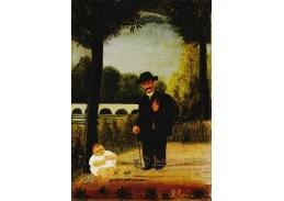 D-7888 Henri Rousseau - Muž s dítětem