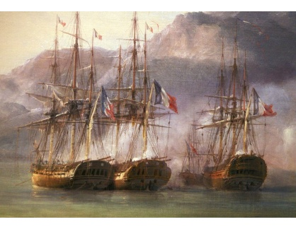 VL205 Pierre-Julien Gilbert - Bitva o Granf Port, detail