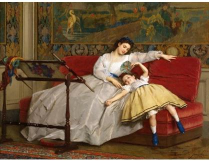 KO III-165 Gustave Léonard de Jonghe - Matka s dcerkou