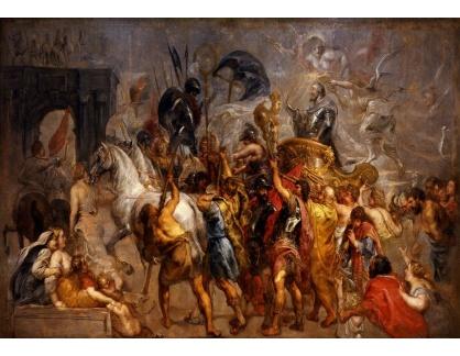 VRU154 Peter Paul Rubens - Triumfální vstup Jindřicha IV do Paříže