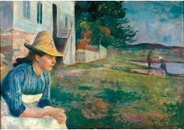 VEM13-03 Edvard Munch - Večer v Aftenstundu