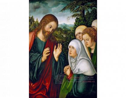 VlCR-94 Lucas Cranach - Kristus s matkou