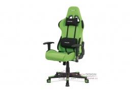 KA-F05 GRN, kancelářská židle, látka zelená