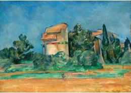 D-7506 Paul Cézanne - Holubí věž v Bellevue