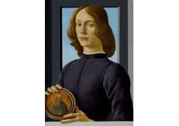 R17-2 Sandro Botticelli - Portrét mladého muže