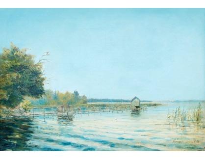 Slavné obrazy XVI-283 August Wilhelm Boesen - Letní den