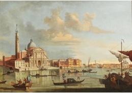 D-5860 Francesco Tironi - Bacino di San Marco s San Giorgio Maggiore v Benátkách