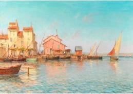 D-9433 Henry Malfroy - Pohled na jižní přístav