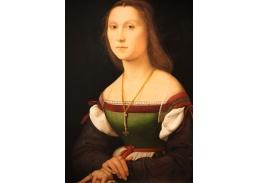 R11-147 Rafael Santi - Portrét němé ženy