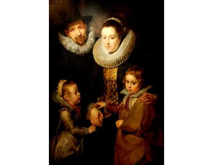 VRU96 Peter Paul Rubens - Rodina Jana Brueghela staršího