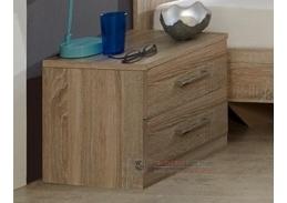 PAMELA 697, noční stolek, řezaný dub