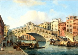 D-9305 Carlo Grubacs - Canal Grande s mostem Rialto