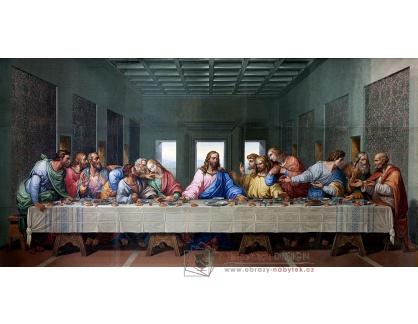 Slavné obrazy IV-564 Giacomo Raffaelli - Poslední večeře