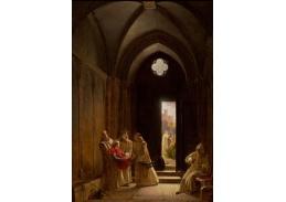 Slavné obrazy XVII-62 Fleury Francois Richard - Smrt prince de Talmont
