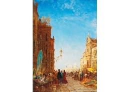 DDSO-2630 Felix Ziem - Starožitný trh v Benátkách
