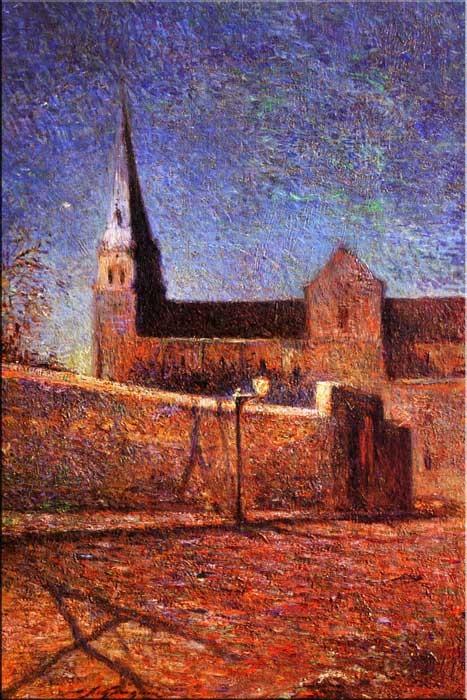 R9-8 Paul Gauguin - Kostel ve Vaugirard