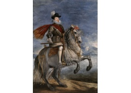 PORT-106 Diego Velázquez - Jezdecký portrét Filipa III